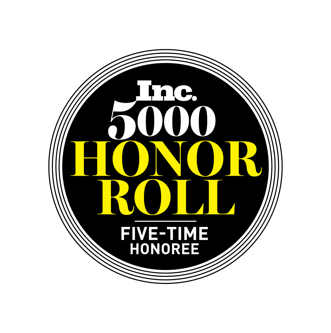 Image result for inc 5000 honor roll